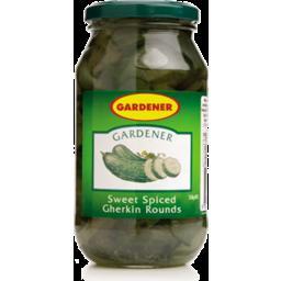 Photo of Gardener Gherkin Rounds 550g