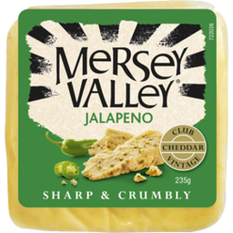 Photo of Mersey Valley Cheese Vintage Jalapeno 235g