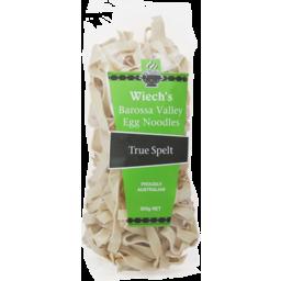 Photo of Wiech's Egg Noodle Spelt 375gm