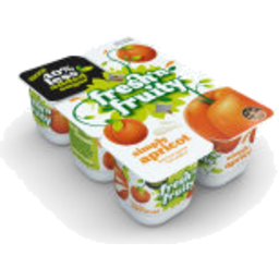 Photo of Fresh n Fruity 40% Less Sugar Yoghurt Apricot 6 Pack