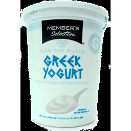 Photo of Member's Selection Greek Yogurt Plain
