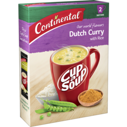 Photo of Continental Cup A Soup Dutch Curry With Rice 2pk 55g