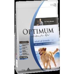 Photo of Optimum Adl Dog Chk/Vg/Rc 3kg