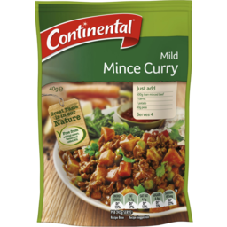 Photo of Continental Recipe Base Mild Mince Curry 40 Gr