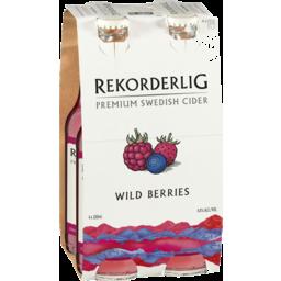 Photo of Rekorderlig Cider Wild Berries 330ml 4pk