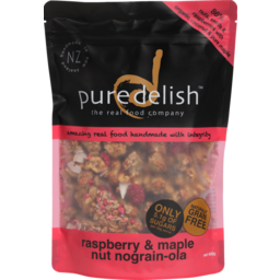 Photo of Pure Delish Nograin-Ola Cereal Raspberry & Maple Nut 400g