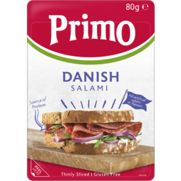Photo of Primo Thinly Sliced Danish Mild Salami 80g