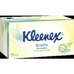 Photo of Kleenex Eucalyptus Facial Tissues, 95 Sheets