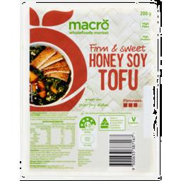 Photo of Macro Honey Soy Tofu 200g