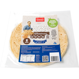 Photo of Wraps Giannis Wheatmeal 6 Pack