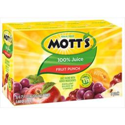 Photo of Motts Fruit Punch 100% Juice