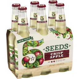 Photo of 5 Seeds Crisp Apple Cider 6 X 345ml Bottle Wrap