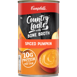 Photo of Campbells Country Ladle With Bone Broth Spiced Pumpkin Soup 505g