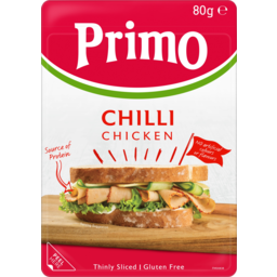 Photo of Primo Gluten Free Thinly Sliced Chilli Chicken 80g