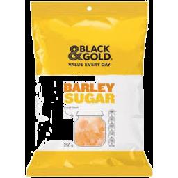 Photo of Black & Gold Barley Sugar 250gm