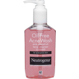 Photo of Neutrogena Oil Free Acne Wash Pink Grapefruit Cleanser 177ml
