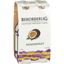 Photo of Rekorderlig Passionfruit Cider Stubbies
