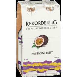Photo of Rekorderlig Passionfruit Cider Stubbies