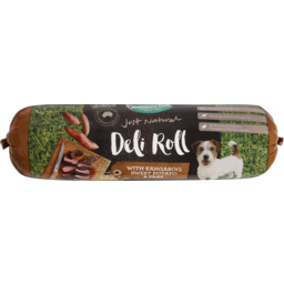 Photo of Nature's Gift Deli Roll With Kangaroo, Sweet Potato & Peas Chilled Dog Food 1.4kg