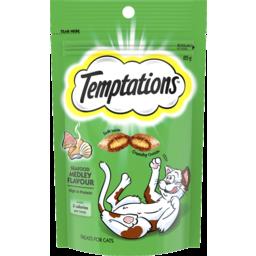 Photo of Temptations Cat Treats Seafood Medley 85g Bag