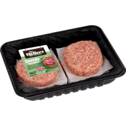 Photo of Hellers Burgers Lamb 4 Pack