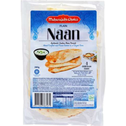 Photo of Maharajahs Choice Naan Plain 280g 4pk