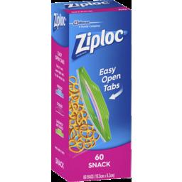 Photo of Ziploc® Snack Bag 60 Pack