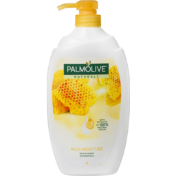 Photo of Palmolive Naturals Rich Moisture Soap Free Shower Milk Body Wash Milk & Honey 1l