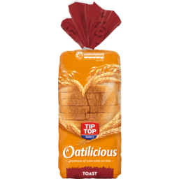Photo of Tip Top Bread Oatilicious Toast 700g
