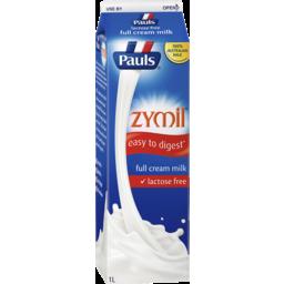 Photo of Pauls Zymil Full Cream Milk 1l