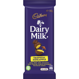 Photo of Cadbury Dairy Milk Tropical Pineapple 180g