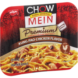 Photo of Nissin Chow Mein Premium Kung Pao Chicken Chow Mein Noodles