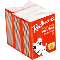 Photo of Redheads Longer Safety Matches Handy Pack 90