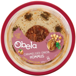 Photo of Obela Hommus Caramelised Onion 220gm