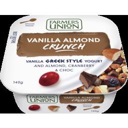 Photo of Farmers Union Vanilla Almond Crunch 140gm