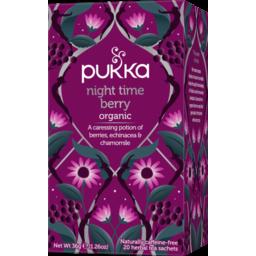 Photo of Pukka - Night Time Berry - 20 Tea Bags - 36g