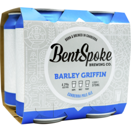 Photo of Bentspoke Barley Griffin Pale Ale Cans