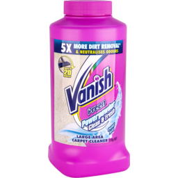 Photo of Vanish Preen Carpet Cleaner Stain Remover Powder 510g