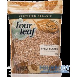 Photo of 4 Leaf Organic Spelt Flakes 800g