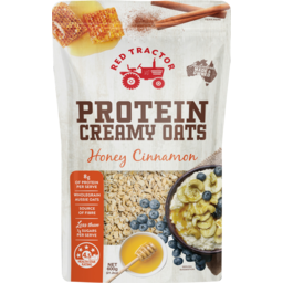 Photo of Red Tractor Honey Cinnamon Protein Creamy Oats 600g