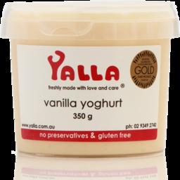 Photo of Yalla Vanilla Yoghurt 350g