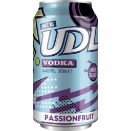 Photo of UDL Vodka & Passionfruit Cans