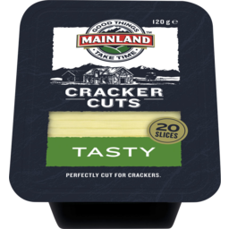 Photo of Mainland Cracker Cuts Tasty Cheddar Cheese 120 G