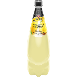 Photo of Schweppes Mineral Water Lemon Pineapple 1.1l