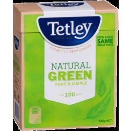 Photo of Tetley Green Tea 100s 120gm