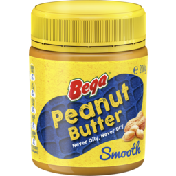 Photo of Bega Peanut Butter Smooth 200g