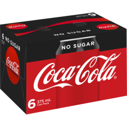 Photo of Coca Cola No Sugar Can