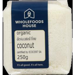 Photo of Wholefoods House Coconut Organic Fine 250g