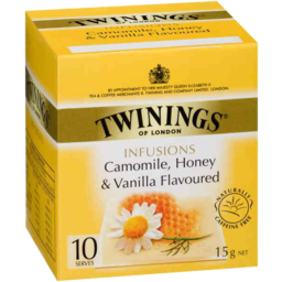 Photo of Twinings Infusions Camomile Honey & Vanilla Flavoured 10pk 15gm