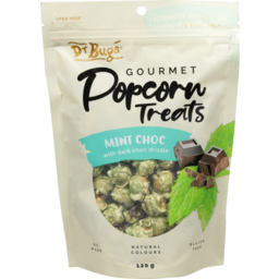 Photo of Dr Bugs Mint Chocolate Gourmet Popcorn 120g